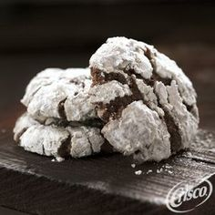 #Chocolate Crackled #Cookies from Crisco®