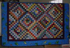 """Scrappy Trip Around the World from Quiltville 2.5"""" x 16"""" strips for 12"""" blocks http://quiltville.com/scrappytrips.shtml"""