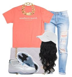 """""""."""" by trillest-queen ❤ liked on Polyvore featuring Michael Kors and NIKE"""