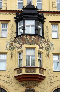 Prague / Prag / Praga Sezession 10 2006 by Arnim Schulz, via Flickr