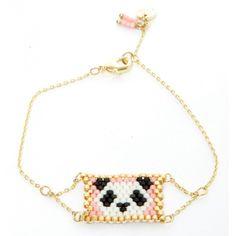 Bracelet chaine PANDA les cléias
