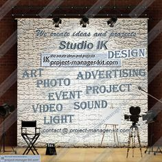 Studio IK - Design - direction in project  / Art, Photo, Video, Sound, Light, Event, Project, Advertising /  Creating ideas, design...