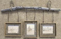picture-frame-made-with-old-barbwire.jpg (400×257)