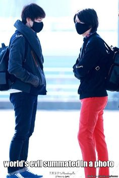 Something bad is being planned here.. Kyuhyun + Heechul