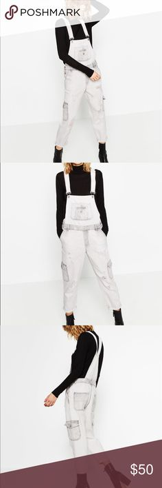 NWT Zara dungarees / overalls New with tags size small Zara Jeans Overalls