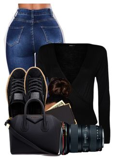 """""""Untitled #3010"""" by alisha-caprise ❤ liked on Polyvore featuring Puma, WearAll, Royce Leather and Givenchy"""