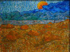 Vincent Van Gogh Most Famous Paintings. Below are 23 of Vincent Van Gogh's most famous paintings: The starry night by Vincent Van Gogh. Vincent Van Gogh, Art Van, Van Gogh Landscapes, Landscape Paintings, Gustav Klimt, Van Gogh Arte, Van Gogh Paintings, Oil Painting Reproductions, Land Scape