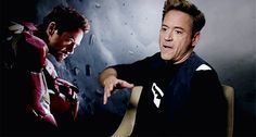 Love that Robert is so animated