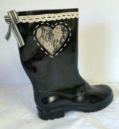 Custom handmade rain boots | Boerneef online shop | Pinterest