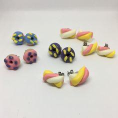 Orecchini - ciambelle e marshmallow