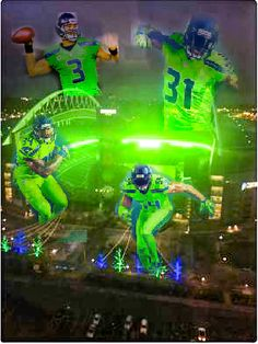 Seattle Seahawks | Action Green