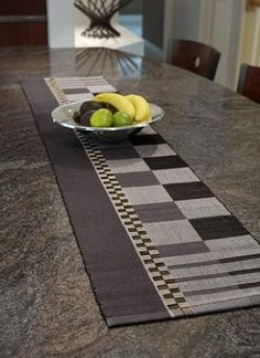 Table Runners & Placemats | Custom Woven Interiors, Ltd.
