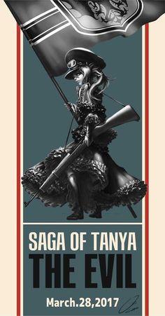 Saga of tanya the evil fan art #Sageoftanyatheevil #cosplayclass