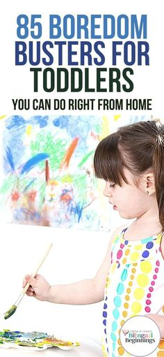 85   Boredom Busters for Toddlers and Preschoolers That You Can Do Right From Home #activitiesfortoddlers #activitiesforpreschoolers #finemotoractivities #grossmotoractivities #sensoryactivities #athomeactivitiesfortoddlers #learningactivitiesforpreschoolers #toddlersensoryactivities Outdoor Activities For Toddlers, Activities For 2 Year Olds, Infant Activities, Preschool Activities, Toddler Age, Toddler Preschool, Boredom Busters, Kids And Parenting, Craft Ideas
