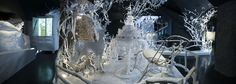 Winter Wonderland    In a demonstration of the emotional quality of crystal, we created a landscape in which the visitors are taken on a fantasy journey. References to fairytales, story telling, history and adventures invite personal interpretation and dreams.    Swarovski Innsbruck 2006 - Present  •  Designed and produced by Studio Tord Boontje in collaboration with Swarovski