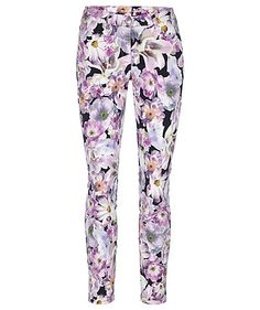 Trousers by cambio #trousers #cambio #engelhorn #flowers http://fashion.engelhorn.de/