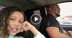 Filha Grava Pai a Cantar Enquanto Conduz e o Resultado é Maravilhoso