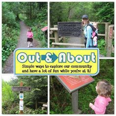 best kid-friendly hike in our area; series of storyboards along the trail