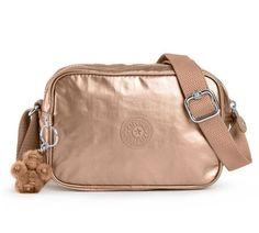 Kipling HB6380 Dee Handbag Copper Metallic NEW  #Kipling #MessengerCrossBody