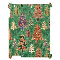 Christmas Pattern iPad Savvy glossy for 2/3/4 iPad Cover