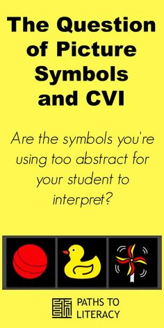 Are picture symbols too abstract for your student with cortical visual impairment (CVI)? Sensory Activities, Learning Activities, Teaching Ideas, Visually Impaired Activities, Multiple Disabilities, Learning Disabilities, Special Needs Teaching, Preschool Special Education, Science Books