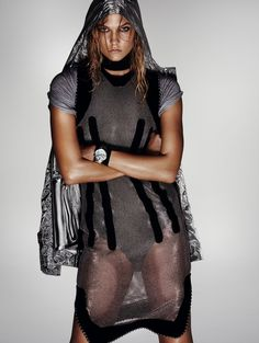 Karlie Kloss Turns Up the Heat for Vogue China Editorial - Fashion Gone Rogue