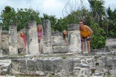 Cancun ruins / El Ray down the street from The Cancun Plaza