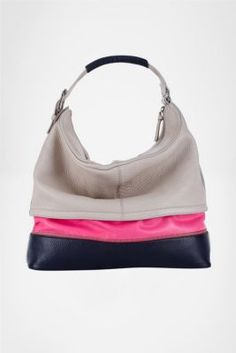 Love this color blocking purse from DVF
