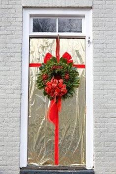 Foil Christmas Door Decoration 78in All Things Christmas