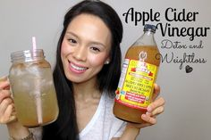 Apple Cider Vinegar Drink | clear skin, lose weight, fight fatigue.  I really like this video.  I have used this recipe a couple days and think that it is helping with metabolism.  Great ingredients.