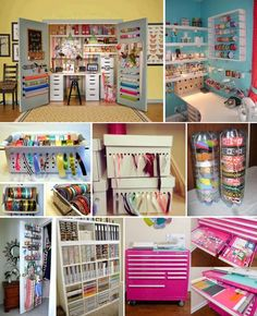 'Craft Storage Ideas You Are Going To Love...!' (via The WHOot)