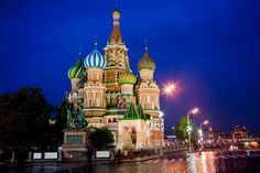 Travel Photography Russia, Moscow, St. Basils Cathedral, Red Square