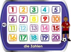 German for Kids / Deutsch für Kinder - Numbers