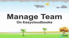 How to create & manage Team on easycloudbooks ?