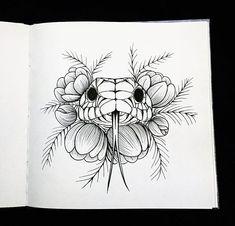 Идея со змейкой от 😍 drawing ideas tattoos, drawings et tattoo dr Tattoo Design Drawings, Cool Art Drawings, Tattoo Sketches, Animal Drawings, Easy Drawings, Drawing Sketches, People Drawings, Pencil Drawings, Tattoo Designs