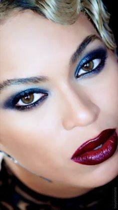 Beyonce haunted makeup -