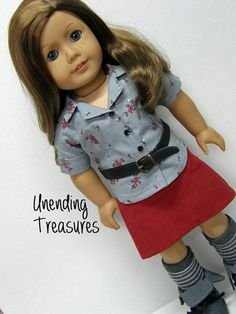 American Girl doll clothes 18 inch doll by Unendingtreasures, $22.00