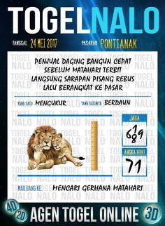 Pakong JP 2D Togel Wap Online TogelNalo Pontianak 24 Mei 2017