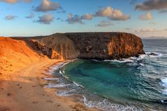Playa Papagayo, Lanzarote, Canarias