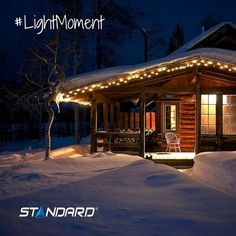 Welcome to coziest world… Thanks to lighting! *The perfect light for every moment of your life*  #StandardProducts #Montreal #Quebec #BC #Calgary #Alberta #Ontario #Toronto #Ottawa #Winter #Cold #BabyItsColdOutside #Chalet #WinterSport #Cozy #FirePLace #F