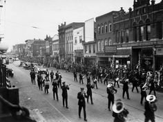 Capitol Dedication Day parade, 1924 - heading west on High Street. Jefferson City Missouri, Six Feet Under, Great Memories, Capital City, Historical Photos, Vintage Photos, Old Things, Photographs, Dads