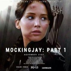 #hunger #hungergames Fanposter! So excited for Mockingjay Part 1!!!!!