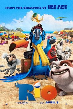 Rio 2 Wallpapers and Pictures Enjoy new and latest pictures of Rio 2 Wallpapers. We will try to bring the best for Rio 2 Wallpapers and Pictures. Film Rio, Rio Movie, Film D'animation, Movie Tv, Movie Blog, Cartoon Movies, Disney Movies, Disney Pixar, Funny Movies