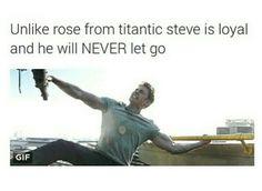 Steve puts Rose to shame.