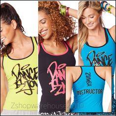 ZUMBA INSTRUCTOR Dance Is Racerback~Metallic Gold TankTop Convention 3Colors M L #ZumbaFitness #ShirtsTops
