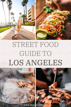 Street food guide to eating in Los Angeles, USA! Explore and discover the best street food dishes to eat in Los Angeles right now. LA has some of the best cuisine, and street food dishes! Los Angeles features mix of cultures that can rarely be seen in the world, from Korean BBQ to Tacos and other street food dishes, this list features them all! | Food guide Los Angeles | Street food LA #food #guide #usa #street #losangeles #la #cuisine #eat #mexico #korean #bbq #destination #travel Food Travel, Usa Travel, Amazing Destinations, Travel Destinations, Food La, Usa Street, Usa Trip, Best Street Food, Singapore Travel