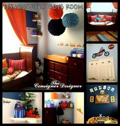 Transported little boy's room reveal (craftionary feature)
