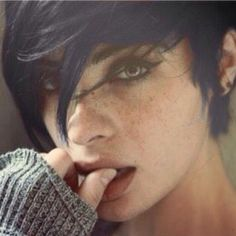 I really like this pixie cut
