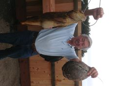 Doug with another Ling and an Abalone.