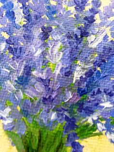 Floral oil painting on canvas 5x7 with free shipping by JuliaDuART